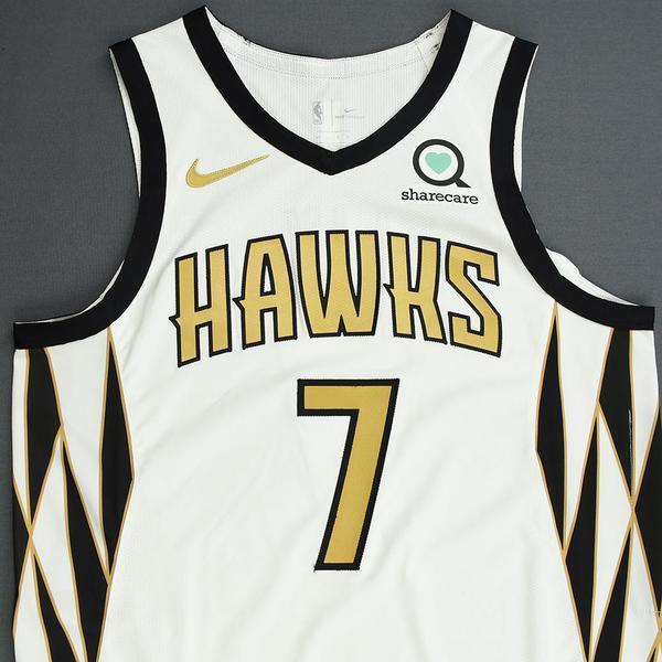 Jeremy Lin - Atlanta Hawks - Game-Worn City Edition Jersey - 2018 ...