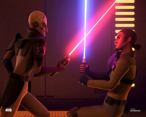 Kanan Jarrus and The Grand Inquisitor