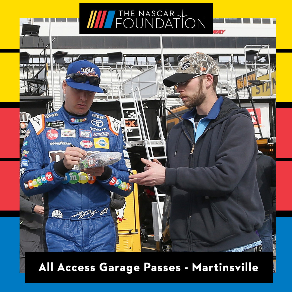 All Access Garage Passes at Martinsville!