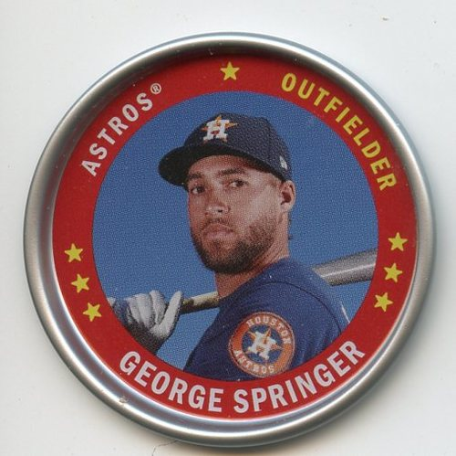 Photo of 2019 Topps Archives Coins #C6 George Springer