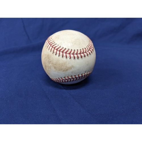 Photo of Los Angeles Dodgers Game-Used Baseball: Pitcher: Felix Pena, Batter: Cody Bellinger (Single) - Bot 4 - 7/23/19 vs. LAA