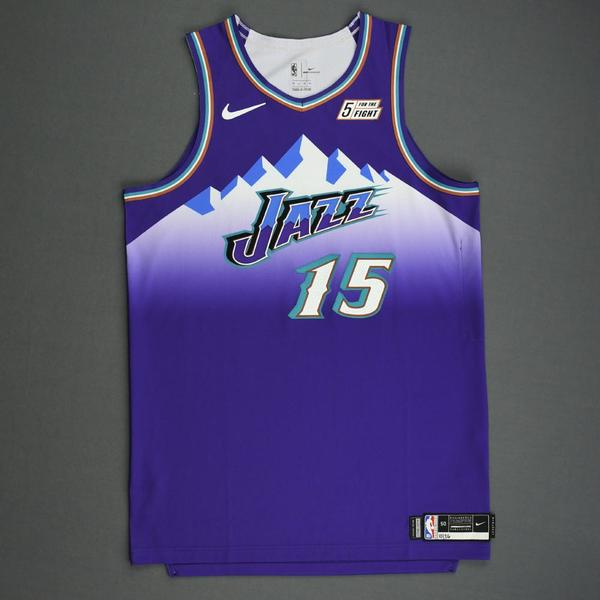 Image of Stanton Kidd - Utah Jazz - Game-Worn Classic Edition 1996-04 Road Jersey - 2019-20 Season