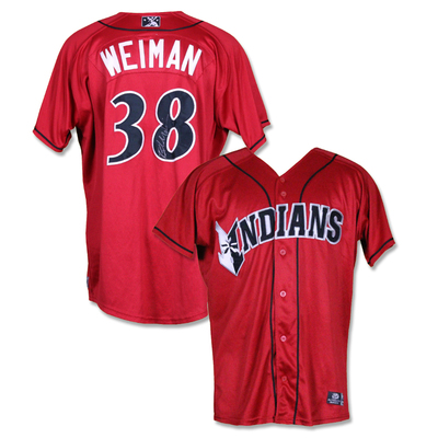 #38 Blake Weiman Autographed Game Worn Jersey