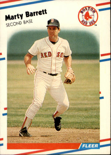 Photo of 1988 Fleer #343 Marty Barrett