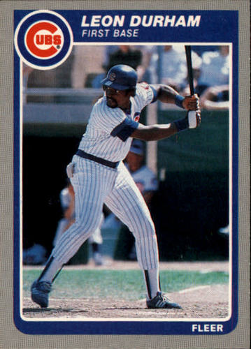 Photo of 1985 Fleer #56 Leon Durham