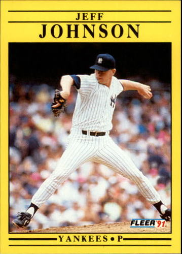 Photo of 1991 Fleer Update #44 Jeff Johnson RC