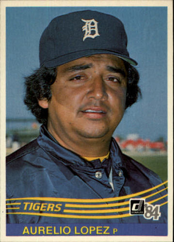 Photo of 1984 Donruss #516 Aurelio Lopez