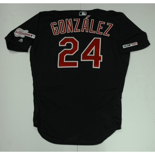 Photo of Carlos Gonzalez Team Issued 2019 Navy Road Alternate Jersey