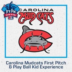 Photo of Carolina Mudcats First Pitch & Play Ball Kid Experience