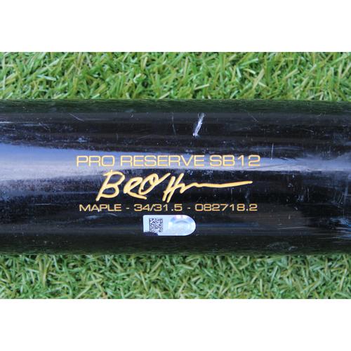 Photo of Team-Issued Bat: Ryan O'Hearn