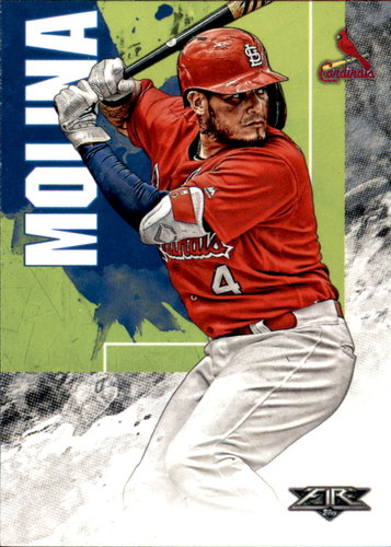 Photo of 2019 Topps Fire #22 Yadier Molina