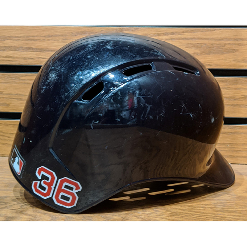 Chris Owings #36 Game Used Batting Helmet
