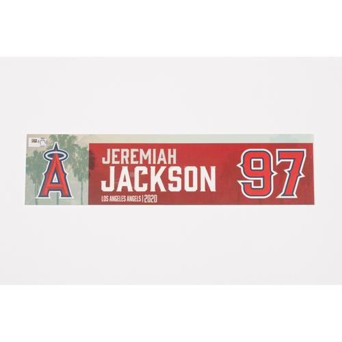 Photo of Jeremiah Jackson 2020 Team Issued Locker Tag