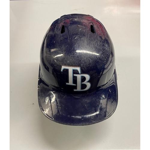 Game Used Home Run Batting Helmet: Randy Arozarena - 3 HRs, 3 RBIs - Rookie Season (See Description for Details)