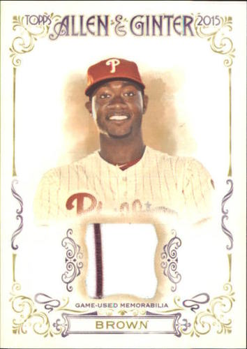 Photo of 2015 Topps Allen and Ginter Relics #FSRADB Domonic Brown A