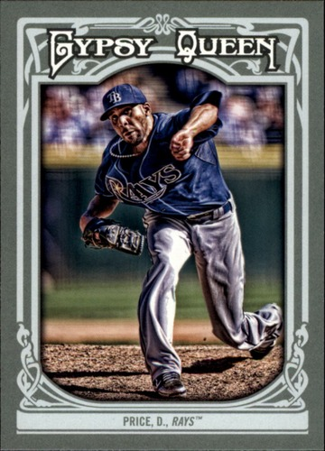 Photo of 2013 Topps Gypsy Queen #35A David Price