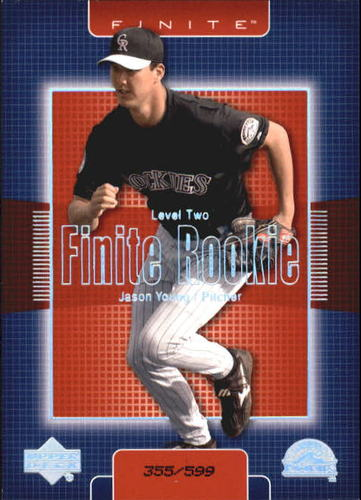 Photo of 2003 Upper Deck Finite #305 Jason Young T2