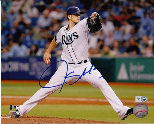 Photo of James Shields Autographed 8x10