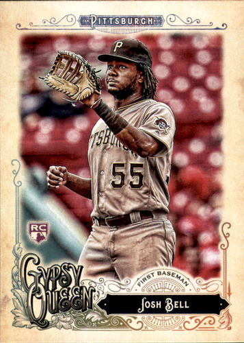 Photo of 2017 Topps Gypsy Queen #241 Josh Bell Rookie Card