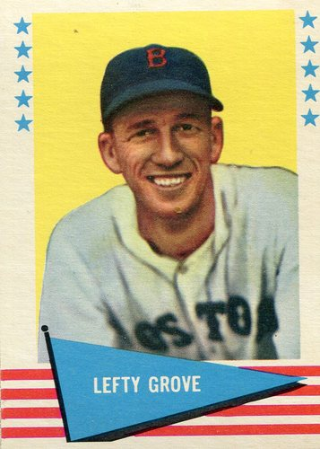 Photo of 1961 Fleer #38 Lefty Grove -- Hall of Fame Class of 1972