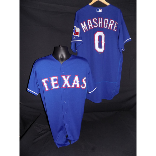 Photo of Justin Mashore Game-Used Blue Jersey - Size 46