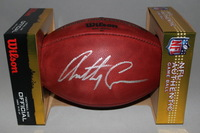 CHARGERS - HEAD COACH ANTHONY LYNN SIGNED AUTHENTIC FOOTBALL