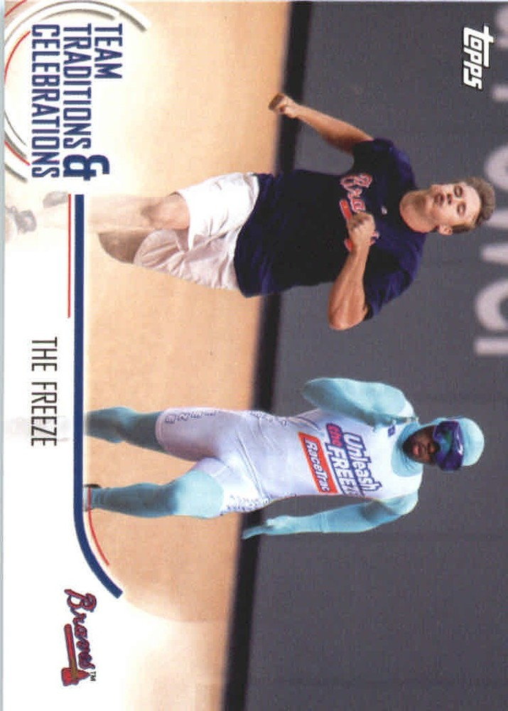 2018 Topps Opening Day Team Traditions and Celebrations #TTCTF The Freeze