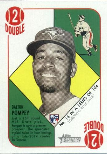 Photo of 2015 Topps Heritage '51 Collection #16 Dalton Pompey RC