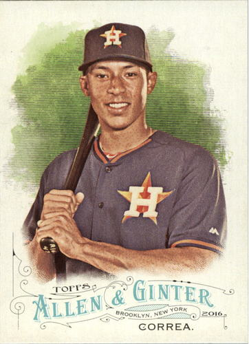 Photo of 2016 Topps Allen and Ginter #56 Carlos Correa