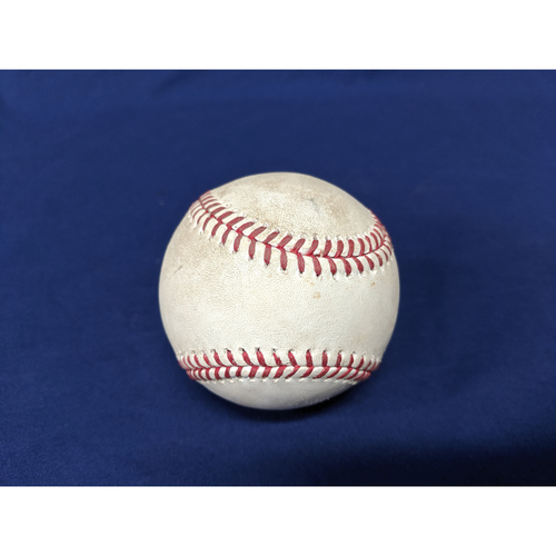 Photo of Los Angeles Dodgers Game-Used Baseball: Pitcher: Ken Giles, Batter: Corey Seager (Single) - Bot 8 - 8/21/19 vs. TOR