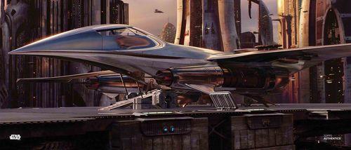 Jedi Starship
