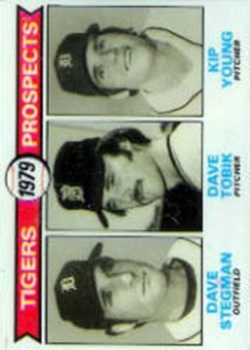 Photo of 1979 Topps #706 Dave Stegman RC/Dave Tobik RC/Kip Young RC