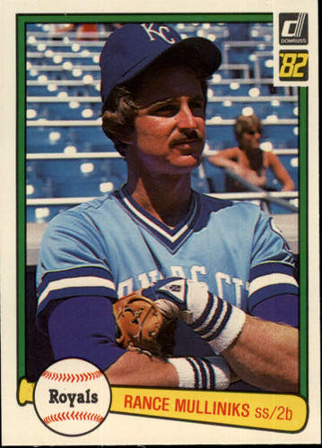 Photo of 1982 Donruss #630 Rance Mulliniks