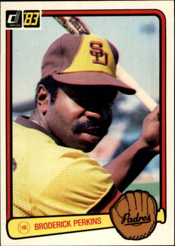 Photo of 1983 Donruss #121 Broderick Perkins
