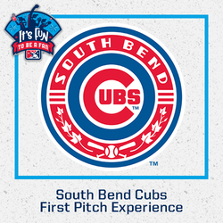Photo of South Bend Cubs First Pitch Experience