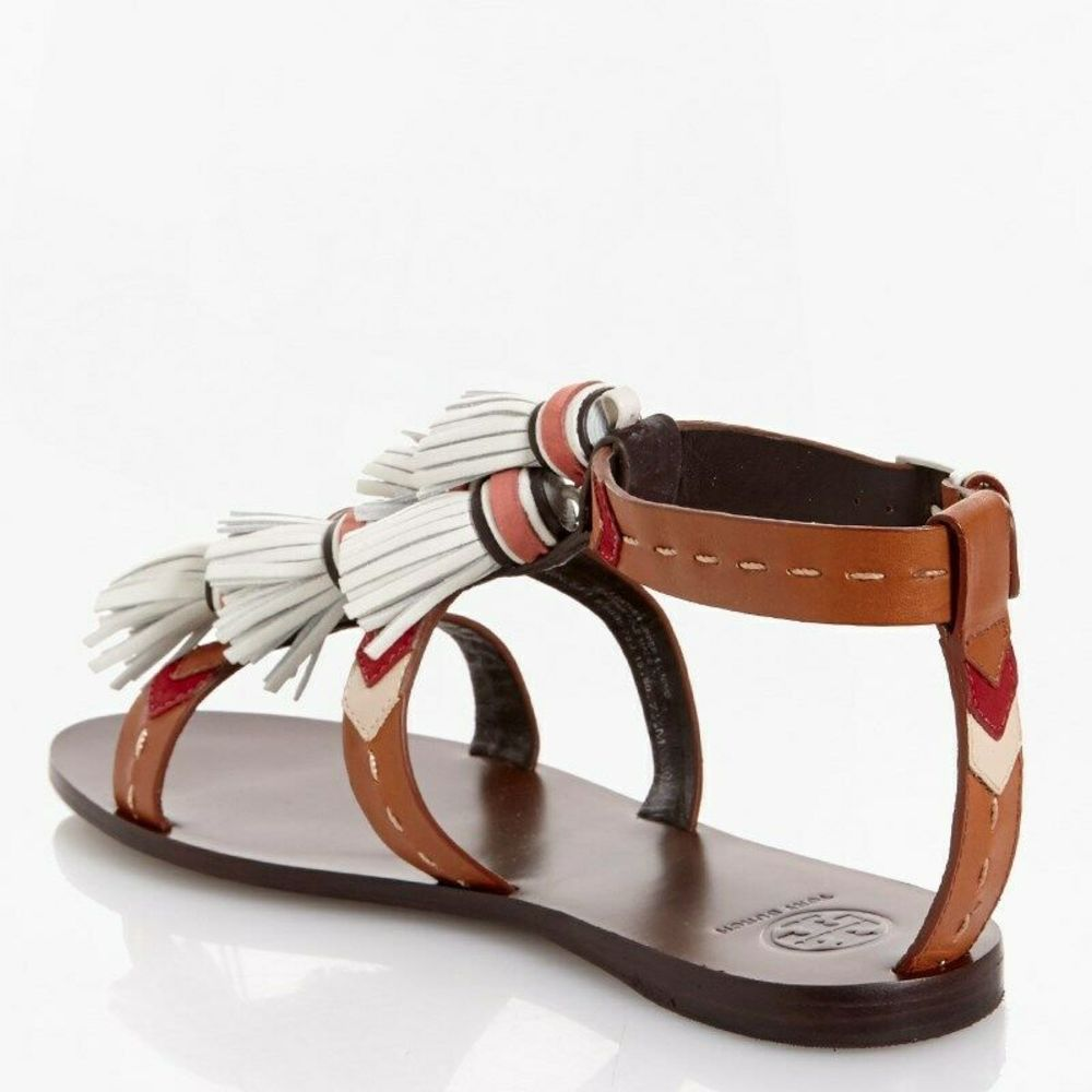 Photo of Tory Burch Women Tassel Strappy Sandals
