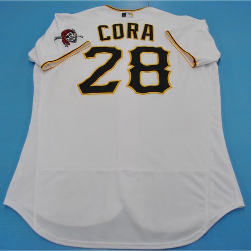 Photo of Game-Used Jersey - 7/27/2020 - MIL vs. PIT - Joey Cora