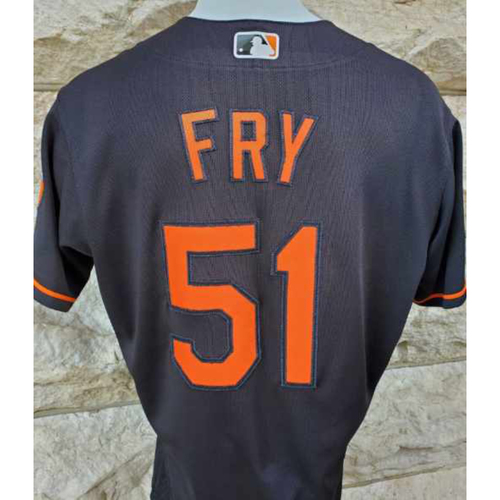 Photo of Paul Fry: Jersey - Game Used