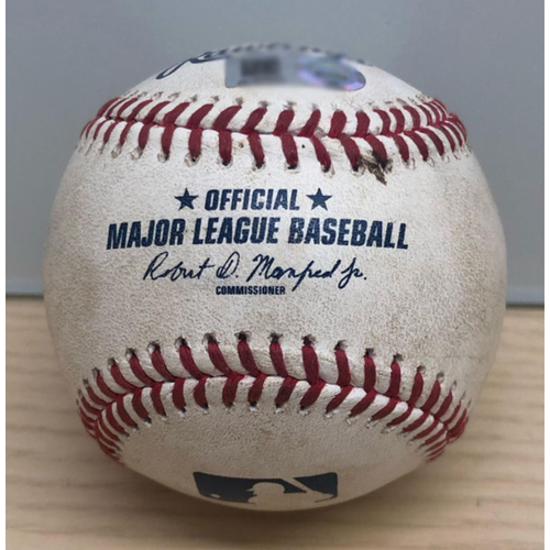 """Photo of UMPS CARE AUCTION: Game-Used Baseball from """"Field of Dreams"""" Game"""