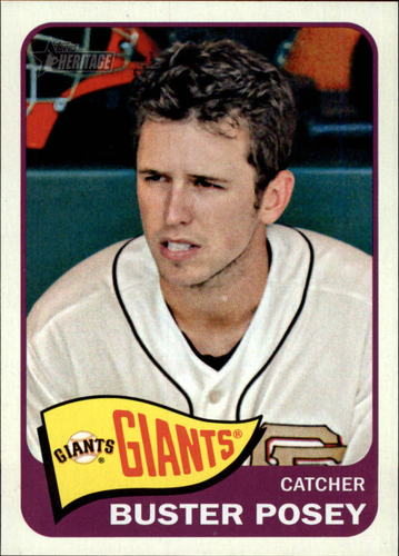 Photo of 2014 Topps Heritage #149A Buster Posey