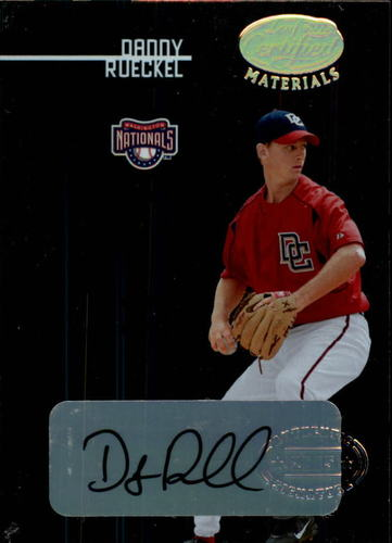 Photo of 2005 Leaf Certified Materials #208 Danny Rueckel NG AU RC