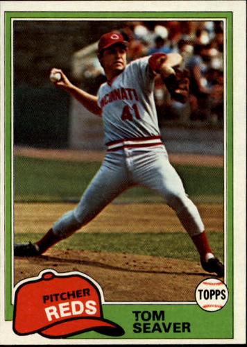 Photo of 1981 Topps #220 Tom Seaver