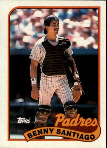 Photo of 1989 Topps #256 Benny Santiago