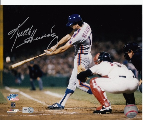 Photo of Keith Hernandez Autographed 8x10