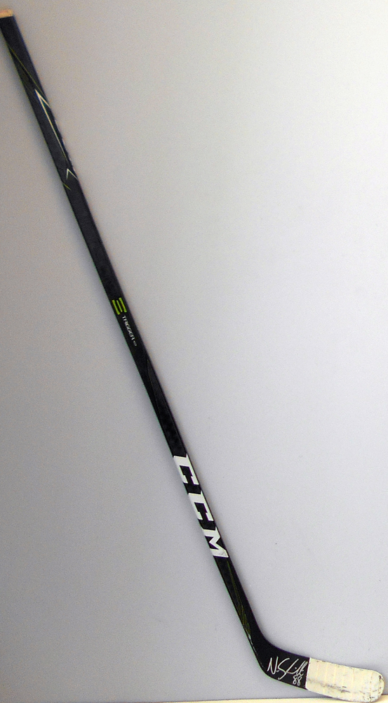 #88 Nate Schmidt Game Used Stick - Autographed -  Washington Capitals