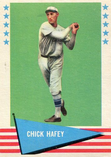 Photo of 1961 Fleer #39 Chick Hafey -- Hall of Fame Class of 1971