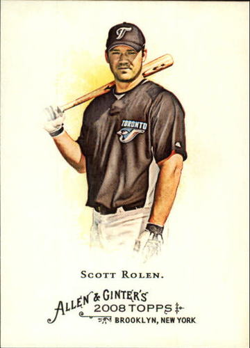 Photo of 2008 Topps Allen and Ginter #91 Scott Rolen