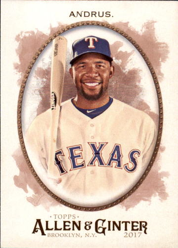 Photo of 2017 Topps Allen and Ginter #287 Elvis Andrus