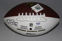 DOLPHINS - EARL MITCHELL SIGNED PANEL BALL