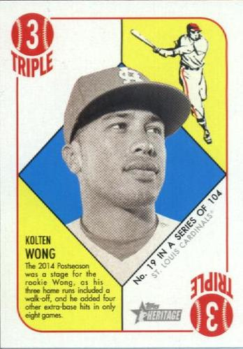 Photo of 2015 Topps Heritage '51 Collection #19 Kolten Wong